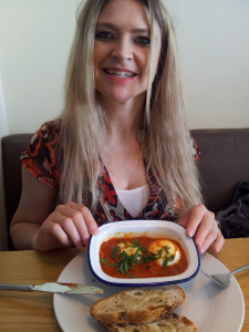 Mrs Y enjoys shakshuka