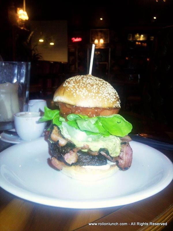 Bacon & Avocado Burger